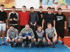 Победители соревнований по волейболу и руководитель ФВ  И.С.Семикозова
