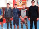 Участники соревнований по волейболу